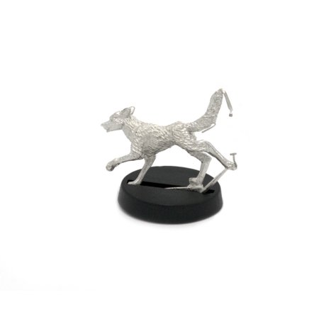 Miniature Dog - Stonehaven Stray Dog Miniature Figure for 28mm Table top Wargames - Made in USA