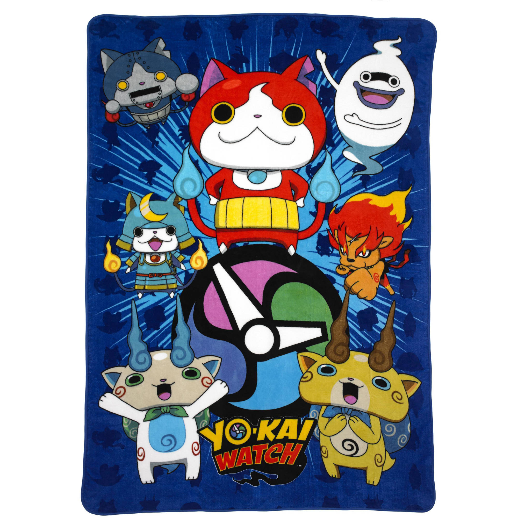 "Yokai Watch ""Watch This"" Reversible Twin/Full Bedding Comforter"