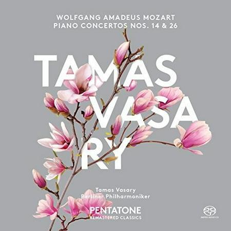 Mozart / Vasary, Tamas / Berlin Philharmonic - Piano Concertos Nos. 14 & 26 [SACD]