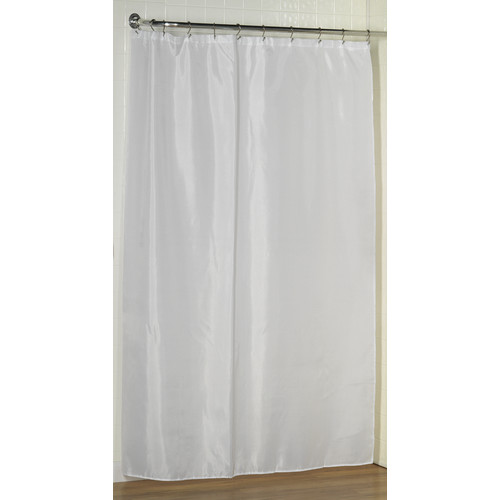 Delicieux Extra Long (96u0027u0027) Polyester Fabric Shower Curtain Liner ...