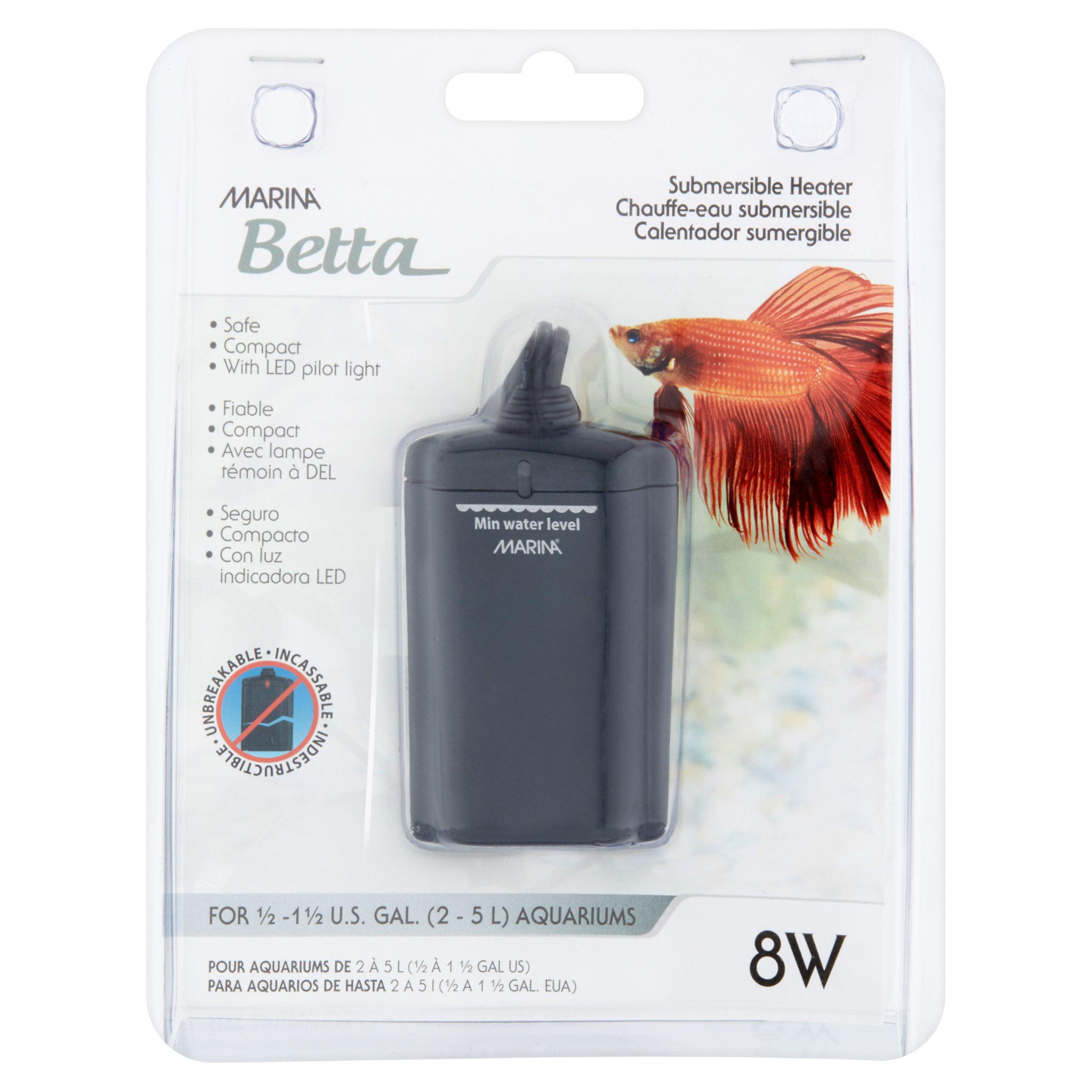 Marina Betta Submersible Heater - Walmart.com - Walmart.com