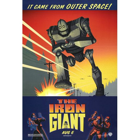 The Iron Giant - Movie Poster / Print (Regular Style) (Size: 27