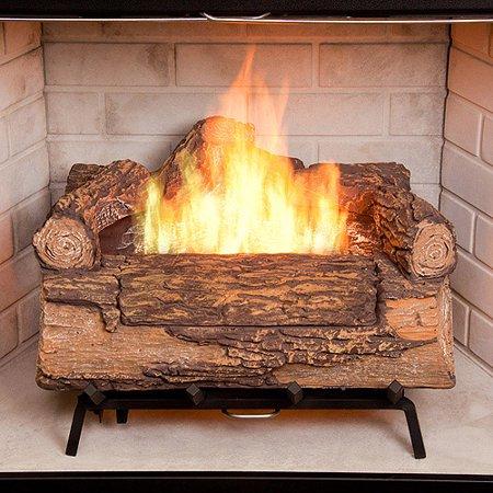 Free Shipping. Buy Duraflame Illuma Bio-Ethanol Fireplace Log Set at Walmart.com
