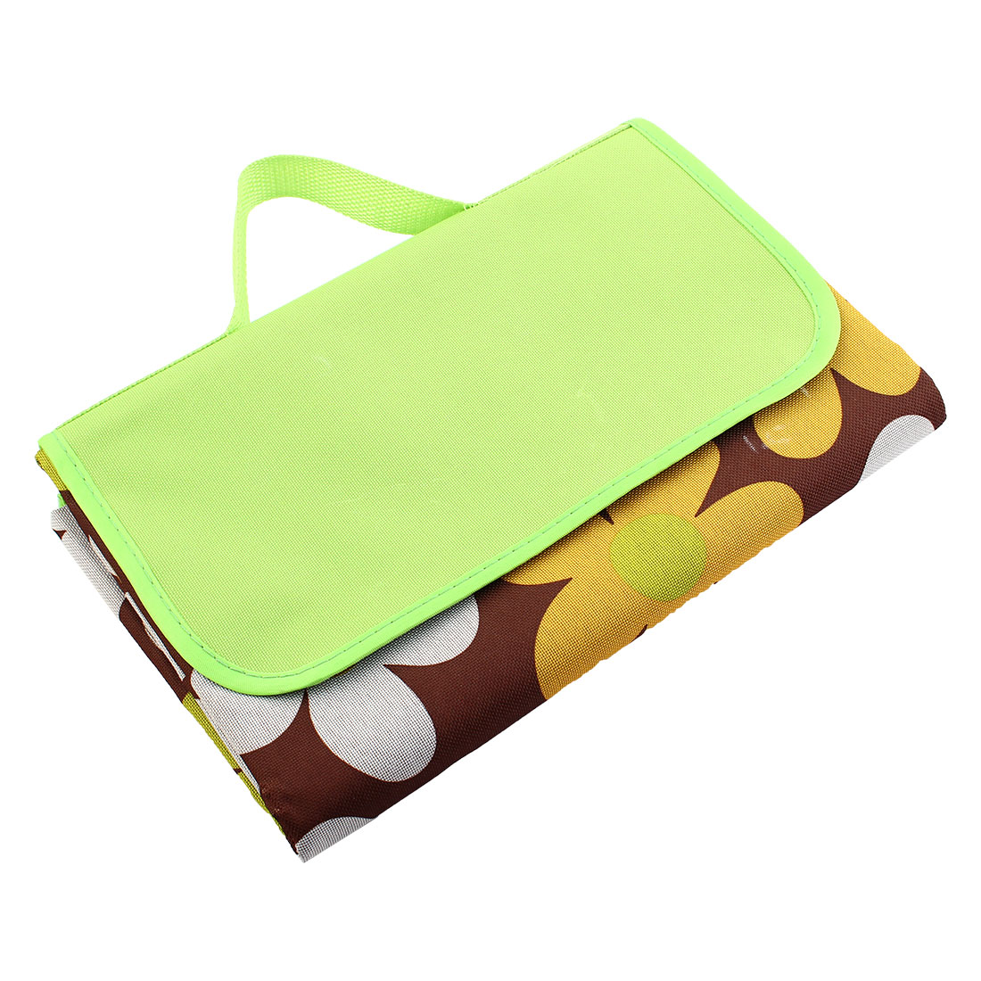 Beach Floral Pattern Moisture-proof Foldable Picnic Blanket Portable Camping Mat