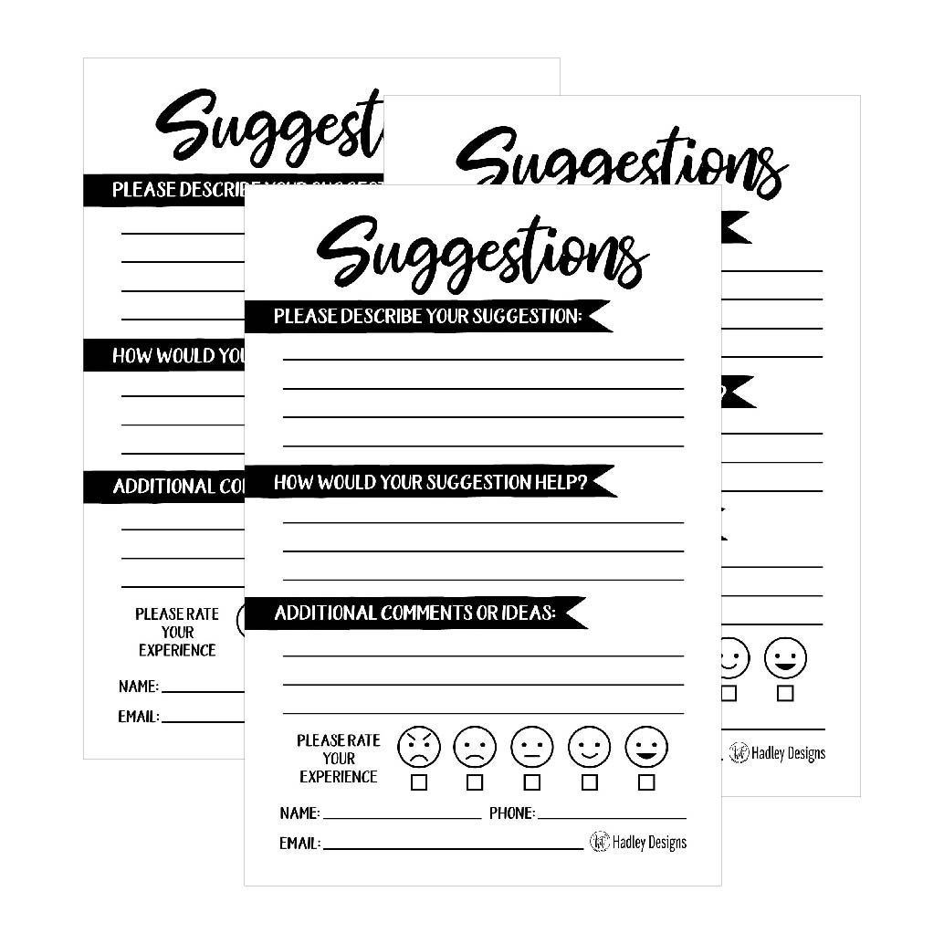 comment card template google doc