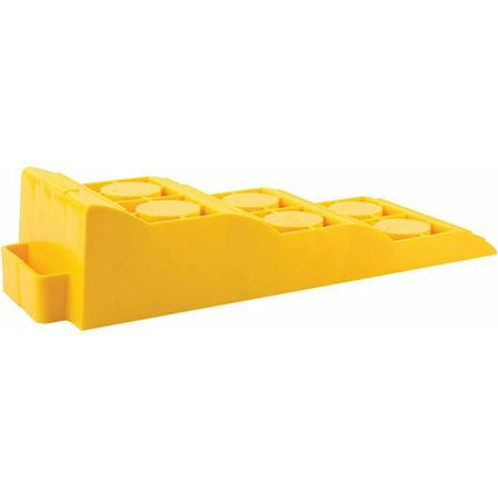 Camco RV Tri-Leveler, Yellow (Links Levelers)