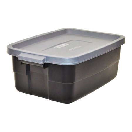 6Pack Rubbermaid Roughneck 10 Gallon Stackable Storage Box, - Rubbermaid Keepsake Box