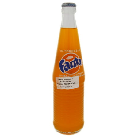Fanta Orange Drink 12 oz - Fanta Naranja (Pack of 24)