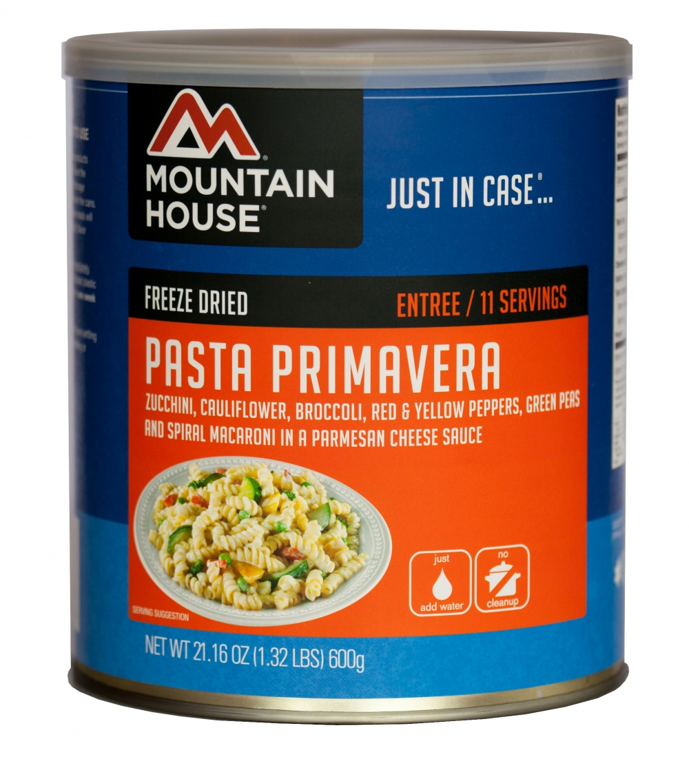 Mountain House (6 Pack) Pasta Primavera Main Entree #10 Can by Mountain House