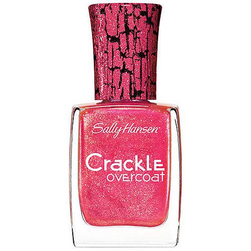 Sally Hansen Crackle Overcoat Fingernail Polish, Coral Collide