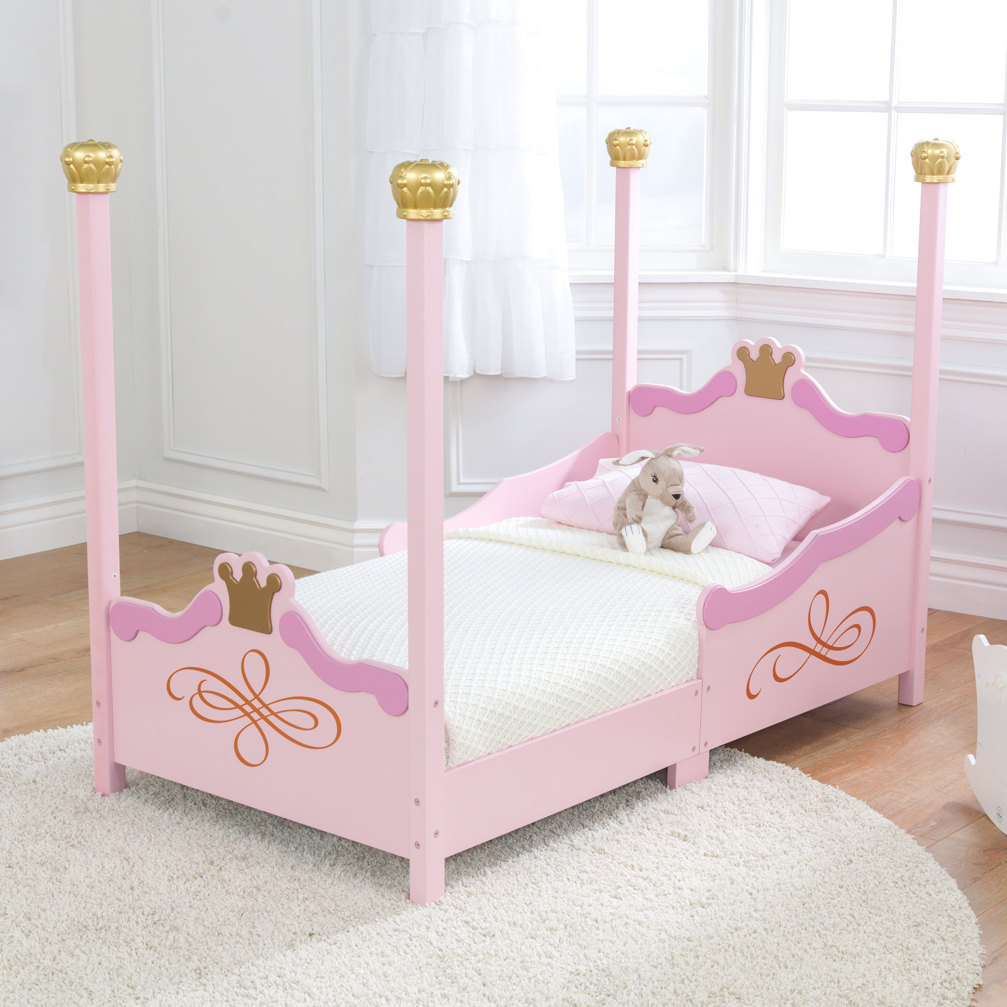kidkraft princess toddler bed - walmart