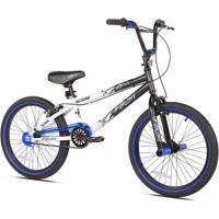 "Kent 20"" Ambush BMX Boy's Bike, Blue, For Height Sizes 4'2"" and Up"