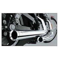 Cobra Exhaust Dragsters Vt1100 Sabre 00-07 Vt1100 Sabre 00-07 Complete Systems #1623t Chr