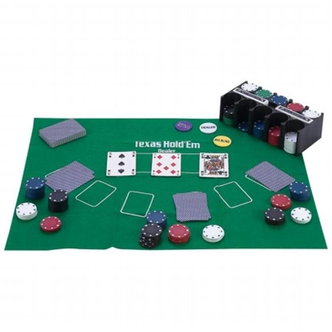 Maxam SPTXPOK Casino Style Texas Holdem Poker Set 208 Piece