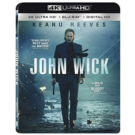 John Wick  4K Ultra Hd   Blu Ray   With Instawatch