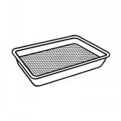 Supermarket Tray, Foam, Yellow, 9-1/4x7-1/4x1-1/8, 125/bag  -  Quantity in Case  500 EACH