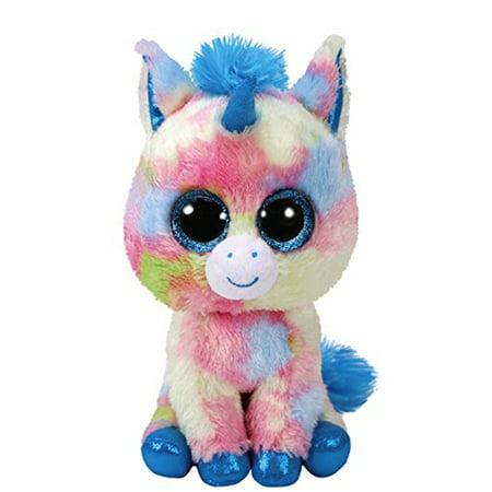 TY Blitz Unicorn Beanie Boo Plush - Party Ty
