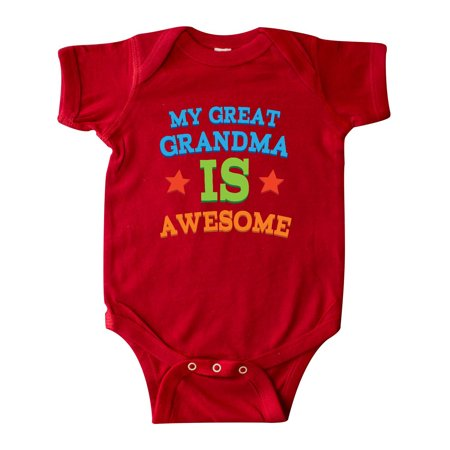 My Great Grandma Is Awesome Infant Creeper (Infant Snowsuit Unisex)