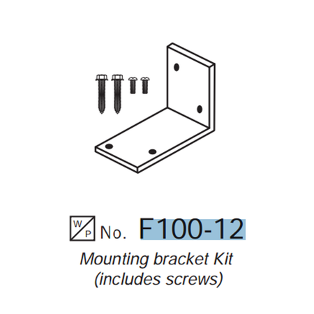 Westwood F100-12 Mounting Bracket Kit With Screws For All F100 Series Oil Filters