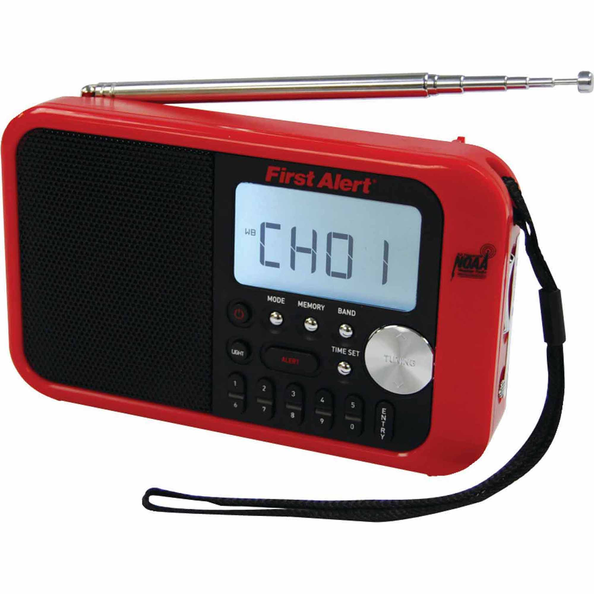 First Alert FA-1100 Digital Tuning AM/FM Weather Band Radio
