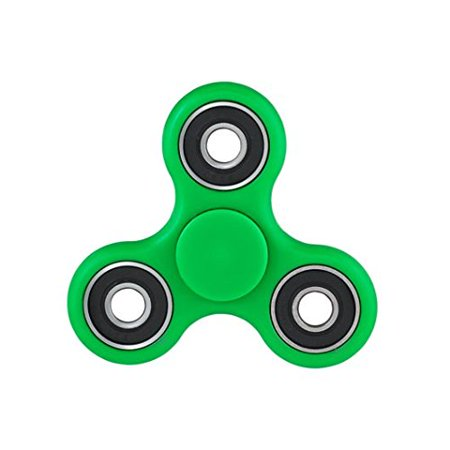 Fidget Spinner Toy Stress Reducer,ADHD and Boredom Hand Spinner Fidget toy hand fidget(GREEN) Fast Shipping USA Seller