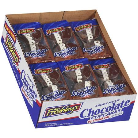 Mrs. Freshley's Chocolate Cupcakes (12 pk.)](Halloween Cup Cake)
