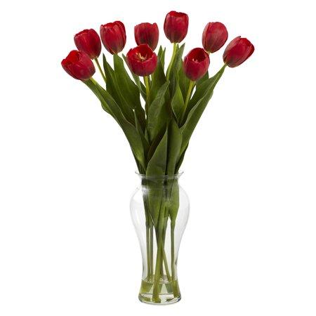 Nearly natural tulips silk flower walmart nearly natural tulips silk flower mightylinksfo