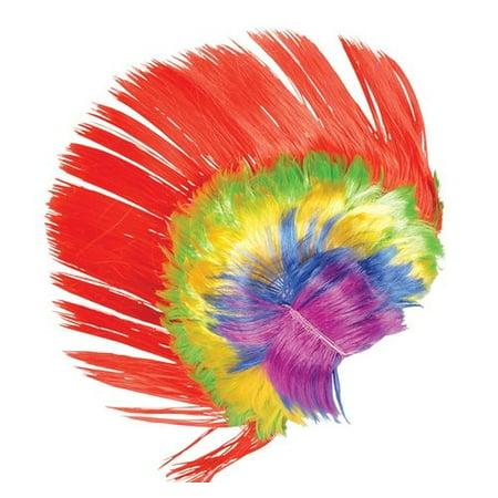 Mohawk Wigs For Kids (RAINBOW MOHAWK WIG, Case of)
