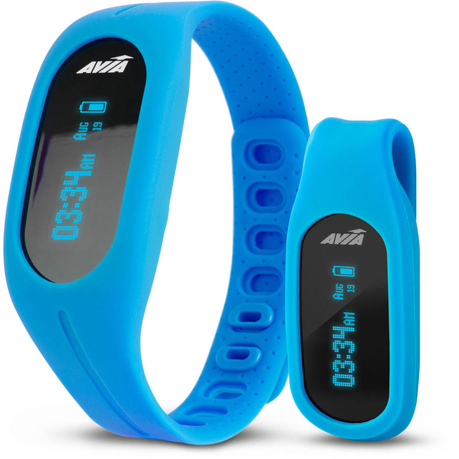 Avia Tempo App-Based Activity/Fitness Tracker, Assorted Colors