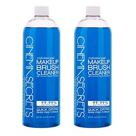 Cinema Secrets Makeup Brush Cleaner 16 oz- 2 Pack](Cinema Secret)