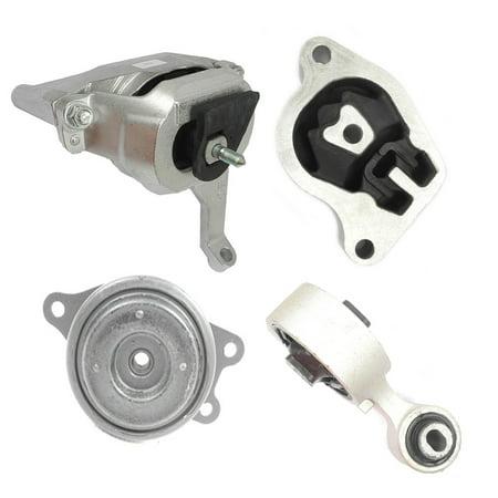 M460 4350 4353 4339 4340 For 07-12 Nissan Altima Maxima 2.5L Set 4PCS Transmission Engine Motor Mount 07 08 09 2010 2011 2012 Prothane Transmission Mount