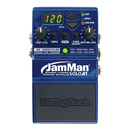 DigiTech JamMan Solo XT Stompbox Looper Pedal with Stereo I O and Sync by DigiTech