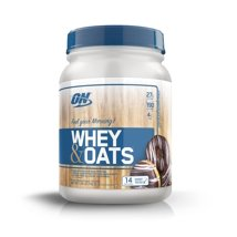 Protein & Meal Replacement: Optimum Nutrition Whey & Oats