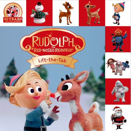Rudolph the Red-Nosed Reindeer Lift-the-Tab