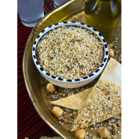 Dukkah (Dokka), Dry Mixture of Chopped Nuts, Seeds and Arabic Spices and Flavors, Egypt, Africa Print Wall Art By Nico (Ginseng Seeds For Sale In South Africa)