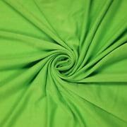 Denim Chambray Heavyweight Rayon Jersey Spandex Knit Fabric by the Yard - 1 Yard
