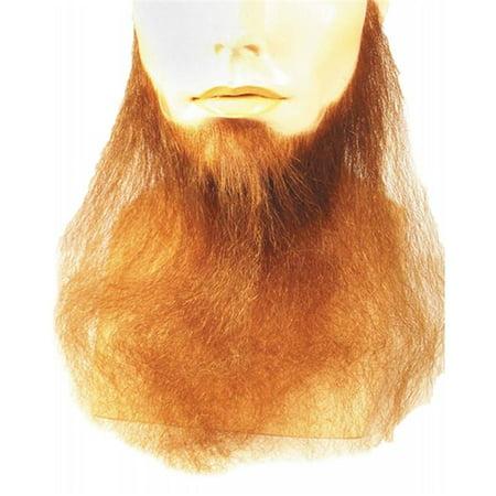 16 in. Full Face Blend Beard, Strawberry (Full Face Beard)