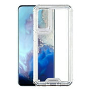 Samsung Galaxy S20 (6.2 inch) Phone Case Hybrid Full-Body Shockproof Frame Bumper Hard PC & Soft TPU Rubber Silicone 3 Layers Protective Case Clear Transparent Cover for Samsung Galaxy S20 5G