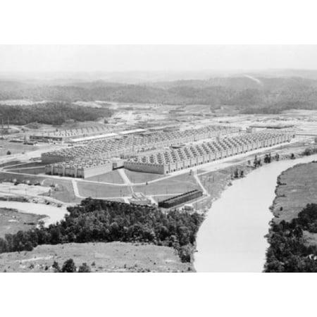 - Aerial view of a nuclear laboratory Oak Ridge National Laboratory Oak Ridge Tennessee USA Canvas Art -  (18 x 24)