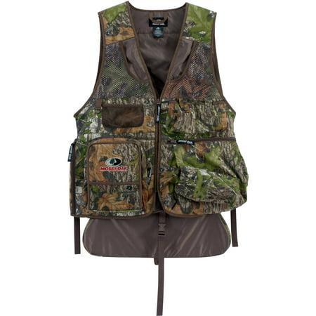 Mossy Oak Men's Camo Turkey Vest with Cushioned Seat thumbnail