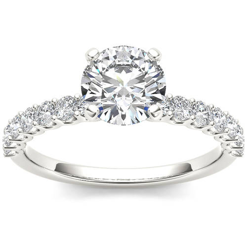 Imperial 1 Carat T.W. Diamond Classic 14kt White Gold Engagement Ring