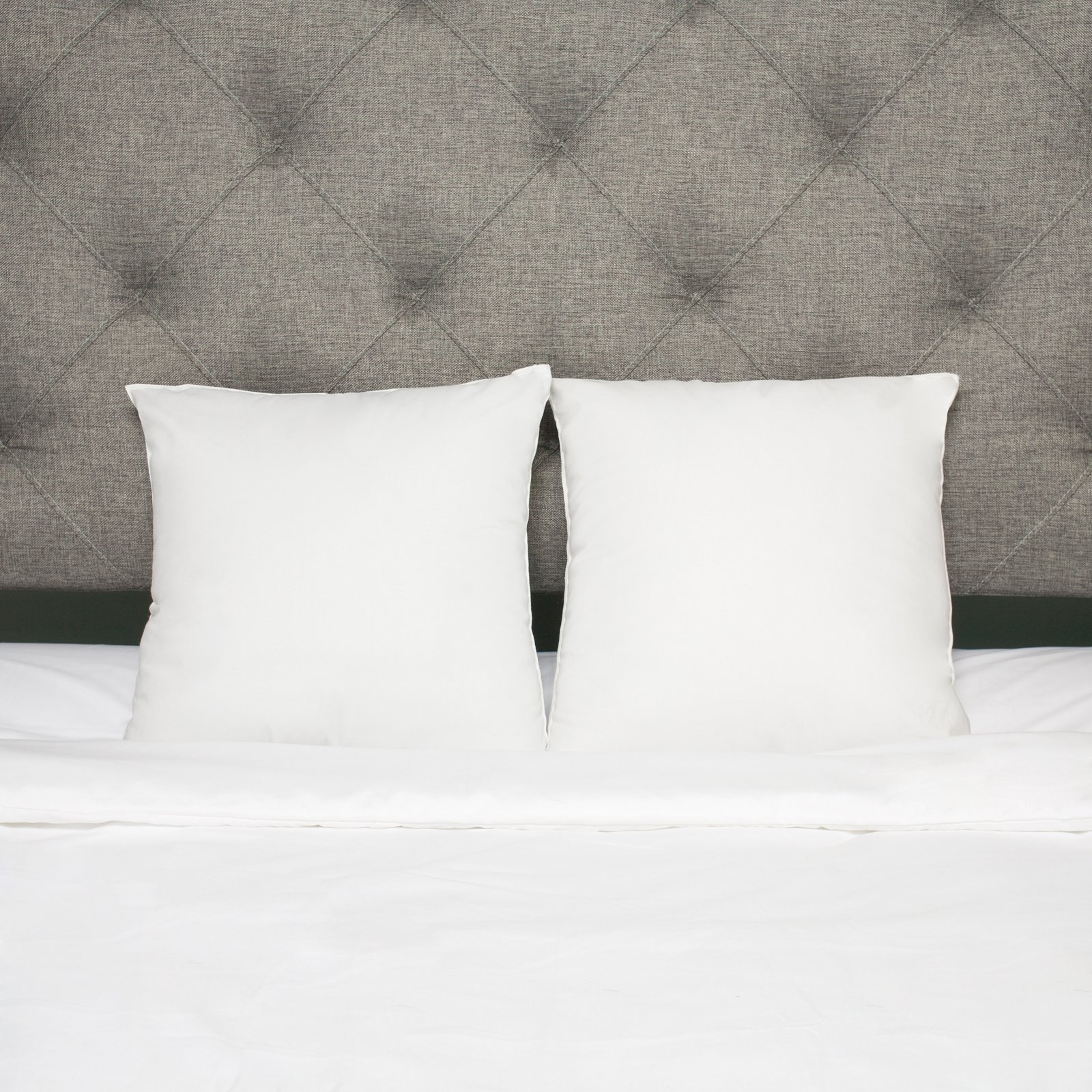 Square Down Alternative Pillow Insert - Set of 2 by Sweet Home Collection