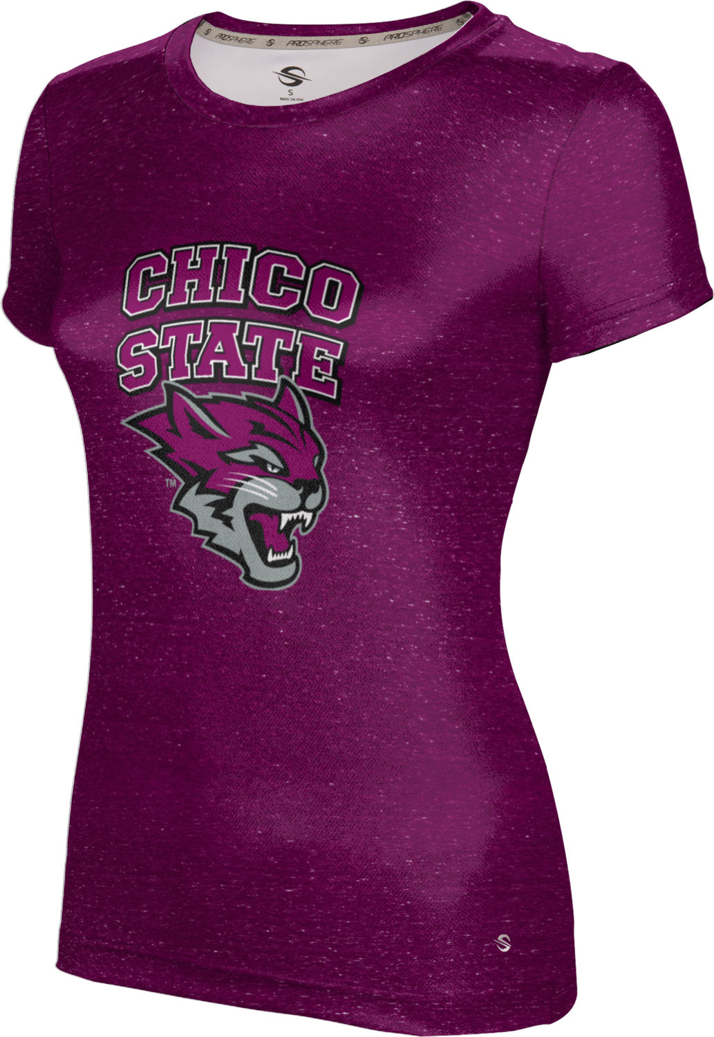 ProSphere Girls' California State University Chico Heather Tech Tee