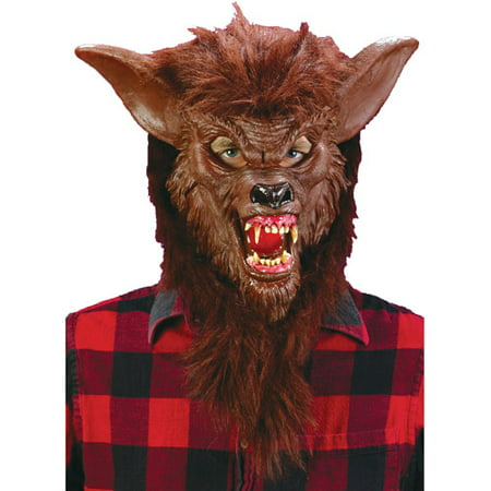 Deluxe Werewolf Mask Adult Halloween Accessory