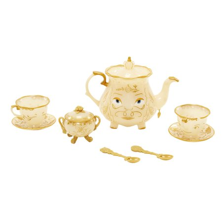 Disney Enchanted Objects Tea Set Beauty And The Beast