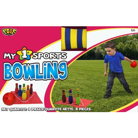 """POOF-Slinky POOF My 1st Bowling Set with 5.5"""" Bowling Ball and Foam Pins"""