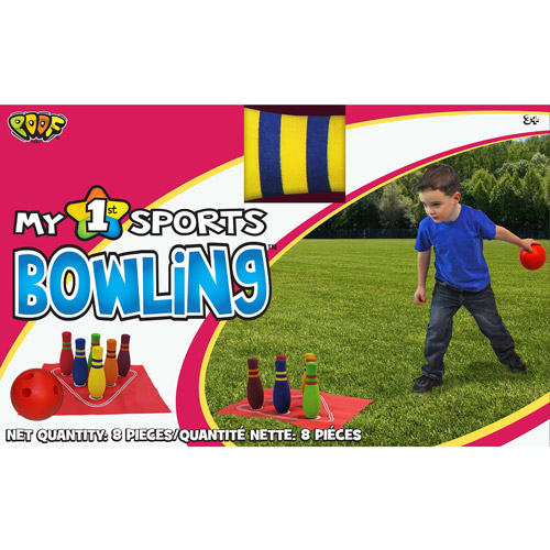 "POOF-Slinky POOF My 1st Bowling Set with 5.5"" Bowling Ball and Foam Pins"