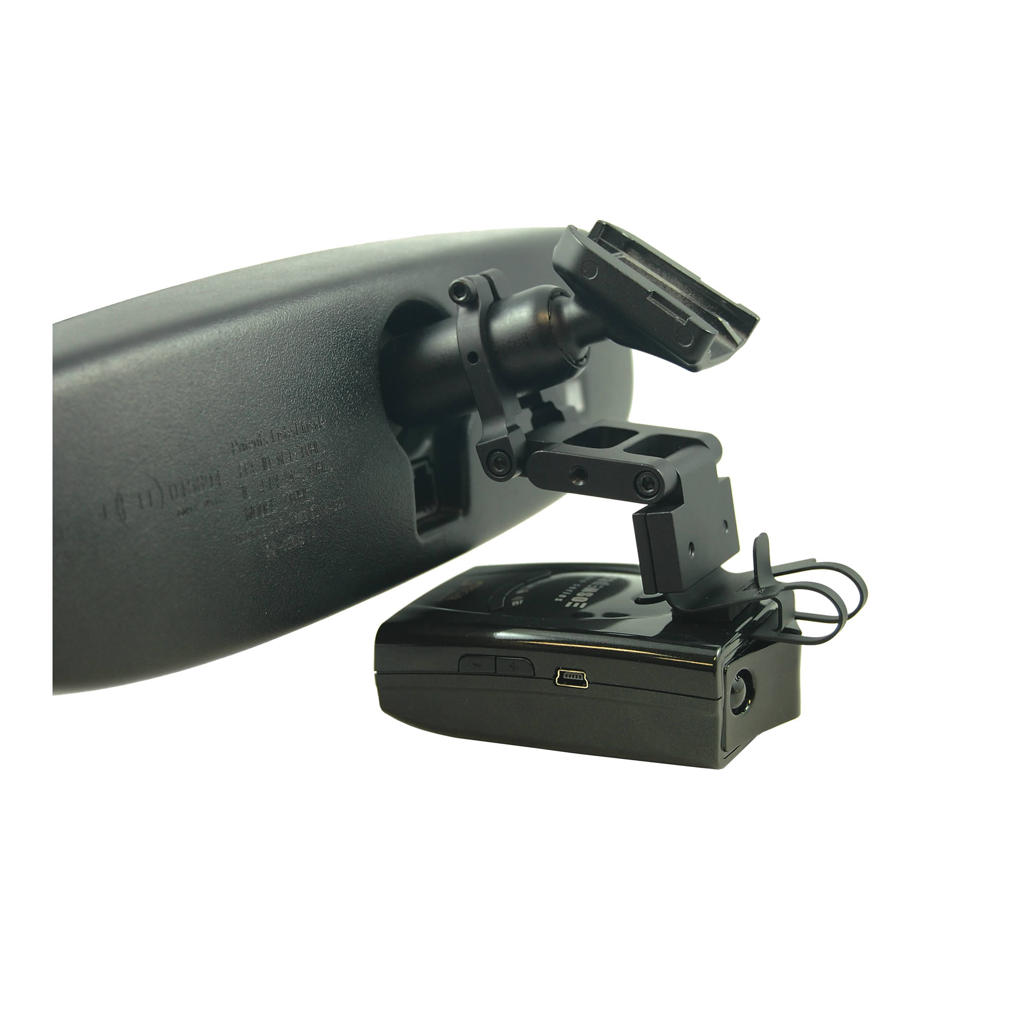 BlendMount BRD-2000R Radar Detector Mount for Radenso Pro, Pro SE, Compatible