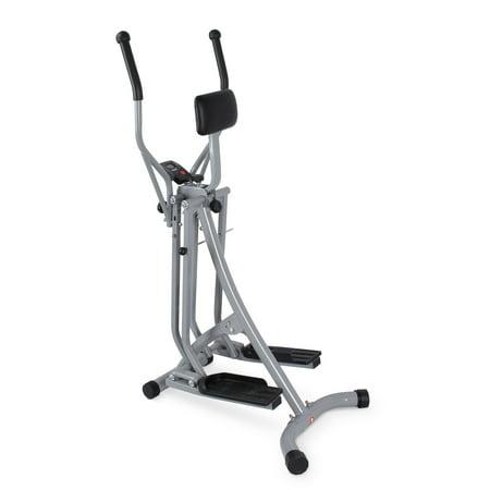 AKONZA Elliptical Machine Cross Trainer Full Body Workout Air Walker Exercise Bike Home Gym Equipment