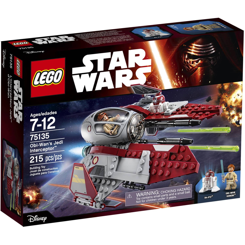 LEGO Star Wars Obi-Wan's Jedi Interceptor, 75135